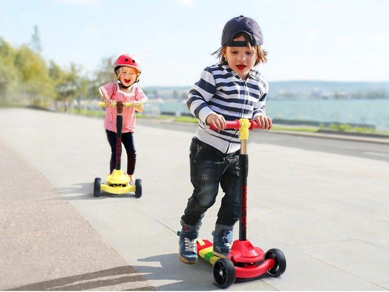 Những điều cần thiết khi mua xe trượt Scooter cho bé