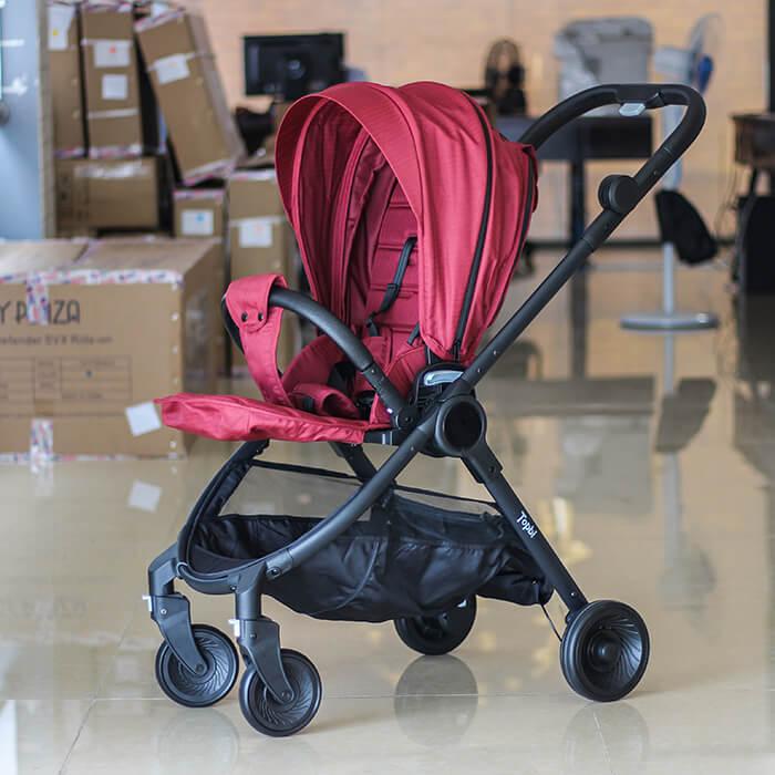 Xe đẩy 2 chiều cao cấp cho bé TOPBI S1000 1