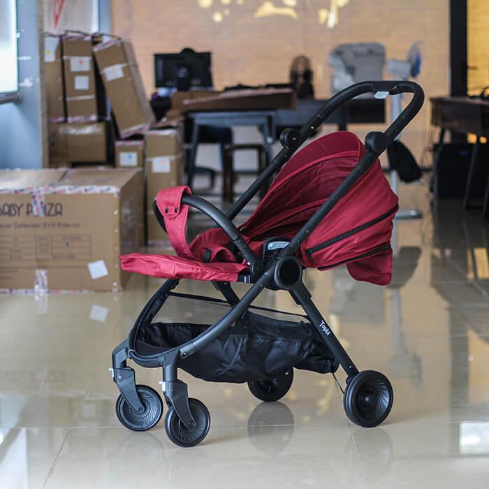 Xe đẩy 2 chiều cao cấp cho bé TOPBI S1000 3